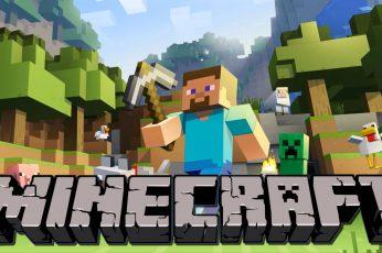 Wallpaper Steve, Minecraft
