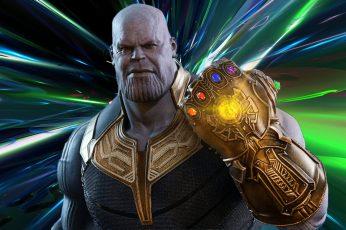 Wallpaper Thanos, Avengers Endgame, Avengers Infinity War