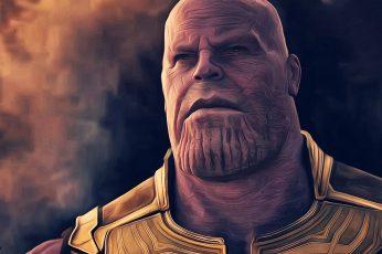 Wallpaper Thanos, Avengers Infinity War, Movies, 2018 Movie