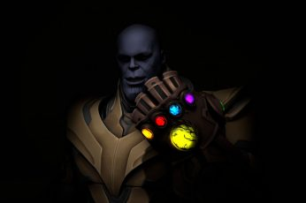 Wallpaper Thanos, Fortnite, Games, Hd, 4k, Deviantart, Black
