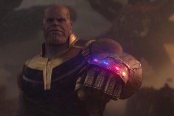 Wallpaper Thanos, Infinity Gauntlet, Infinity Stones