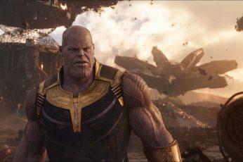 Wallpaper Thanos Movie Still Screenshot, Marvel Cinematic