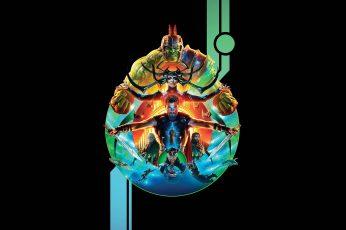 The Avengers Digital Wallpaper, Thor Ragnarok