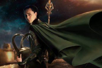 Wallpaper Thor, Loki Laevatein