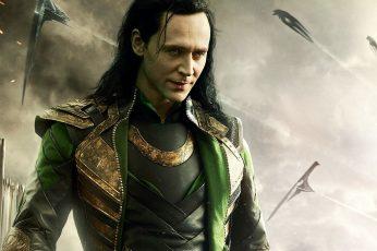 Wallpaper Tom Hiddleston Thor Spaceships Loki Hd, Movies