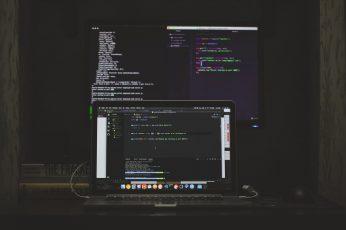 Wallpaper Turned On Macbook Pro, Monitor, Screen