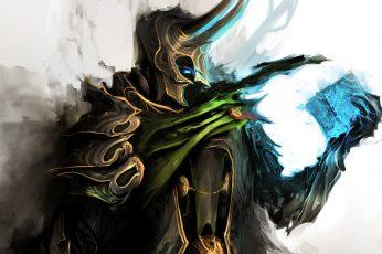 Wallpaper The Avengers, Fantasy Art, Loki