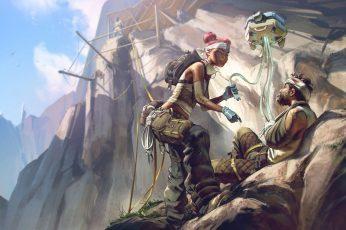 Wallpaper Video Game, Apex Legends, Lifeline Apex Legends