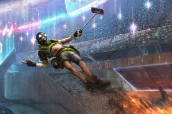 Wallpaper Video Game, Apex Legends, Octane Apex Legends