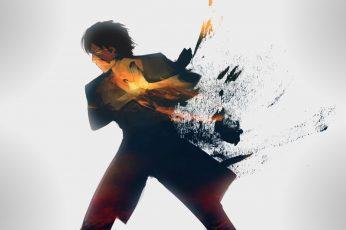 Men's Gray Shirt Digital Wallpaper, Prince Zuko, Avatar