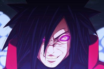 Wallpaper Uchiha Madara, Manga, Anime, Naruto Shippuuden