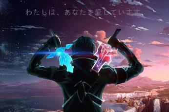 Wallpaper Uchiha Madara, Satoru Gojo